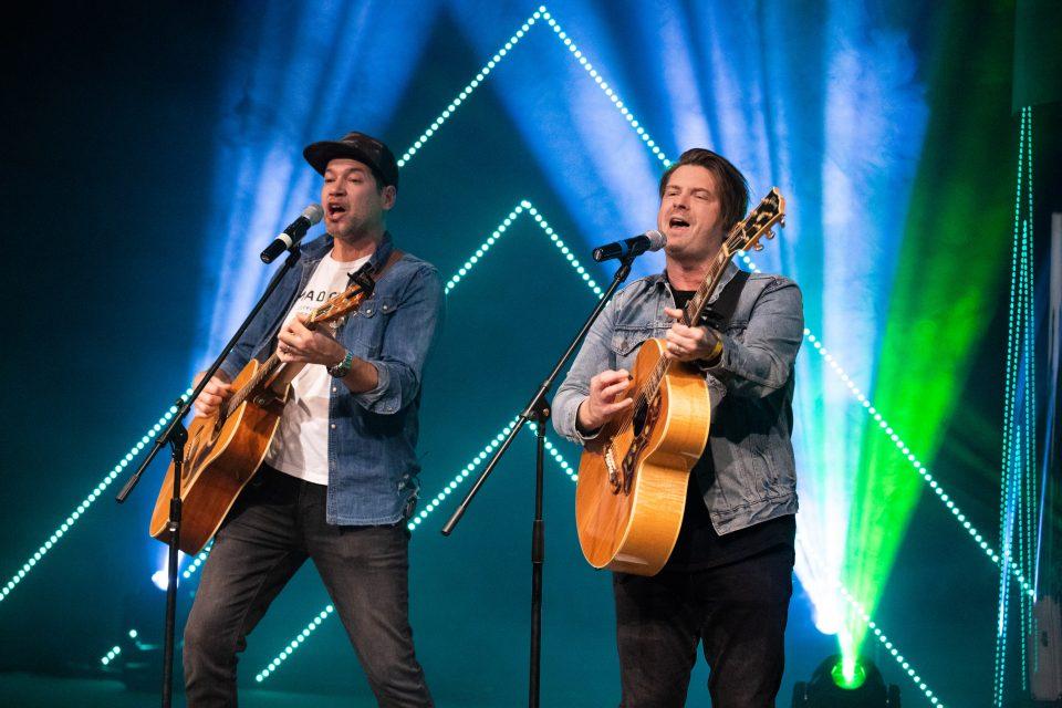 Josh Havens and Matt Fuqua singing