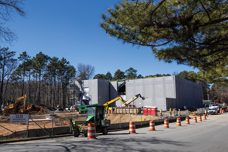 Billy Graham Archive and Research Center under construction