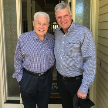 Luis Palau with Franklin Graham