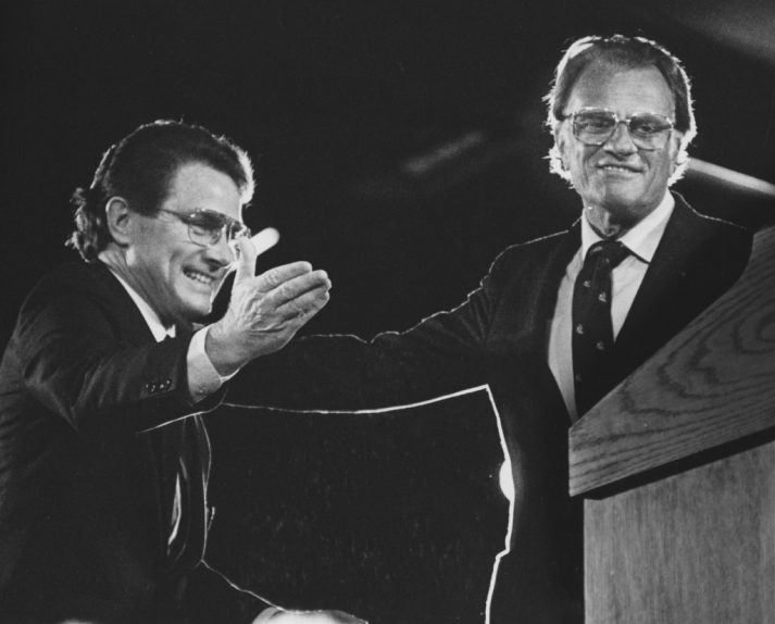 Luis Palau with Billy Graham