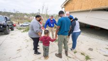Ministry Happening in the Storm-Battered South