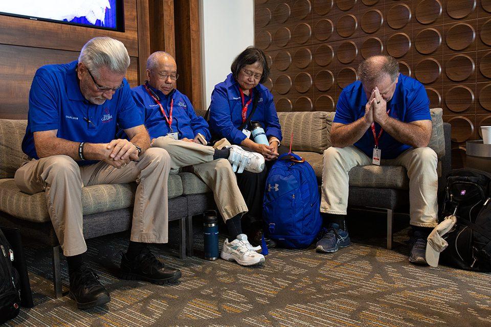 chaplains praying