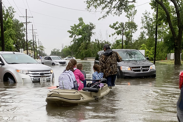 Chaplains Ministering in Louisiana After Another Blow of Deadly Storms