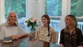 Anne Graham Lotz, Family Share the Influence of a Godly Mother