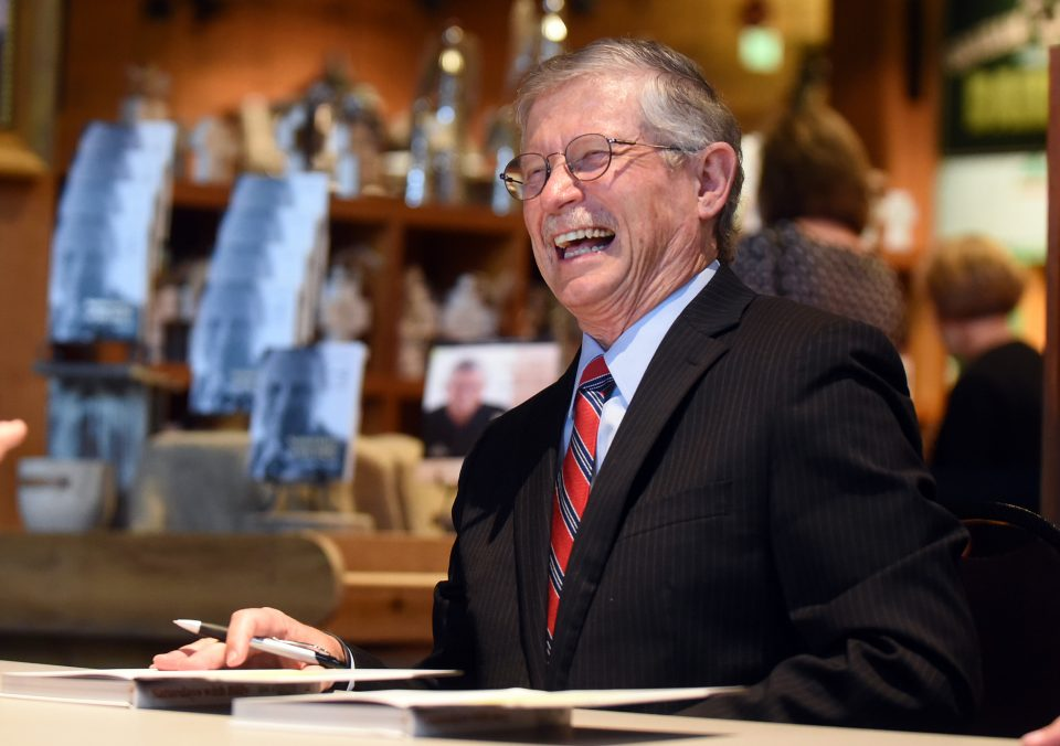 Dr. Don Wilton laughing