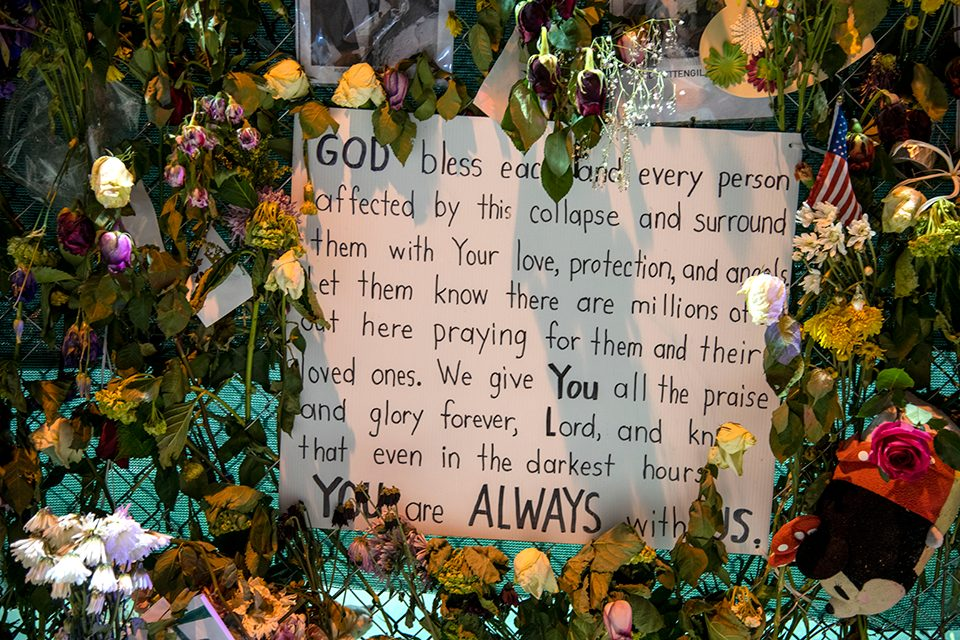 sign with prayer
