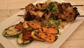 Recipe From The Cove: Honey, Lime & Sriracha Chicken Skewers