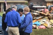 Billy Graham Chaplains Ministering in Flooded Arkansas and Mississippi