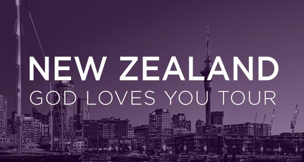 God Loves You Tour New Zealand