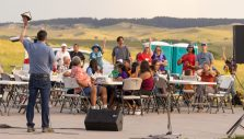 Will Graham Shares Hope on Indian Reservation in South Dakota