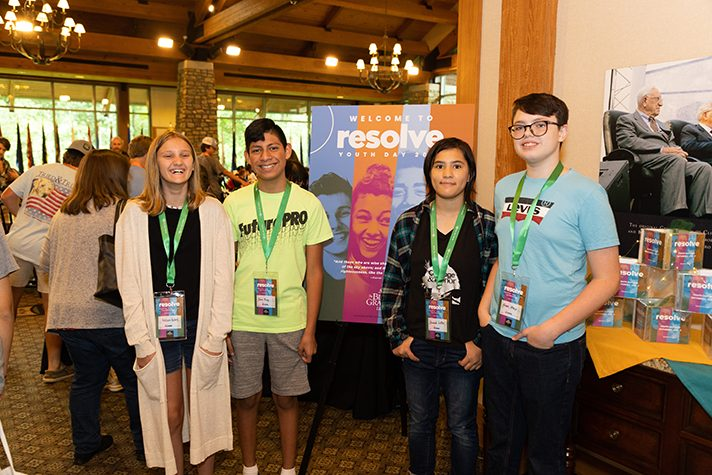 Youth at Resolve: Youth Evangelism Day