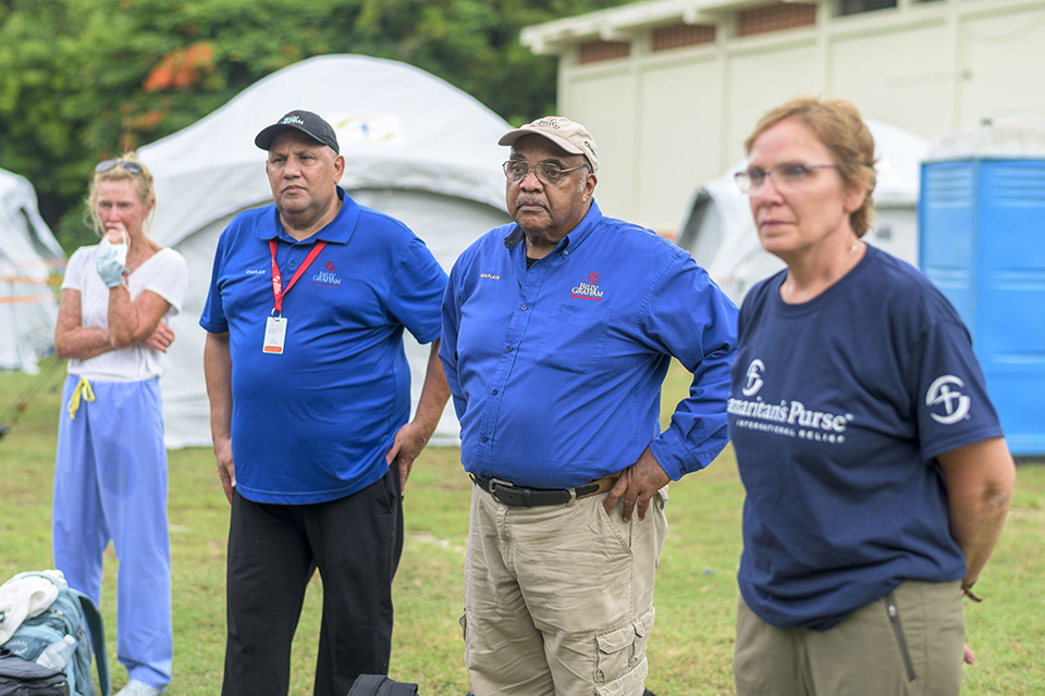 Billy Graham Rapid Response Team Ministering to Haitians Rocked by Earthquake