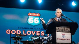 Franklin Graham Urges Springfield to Come to Christ: 'He's Waiting for You'
