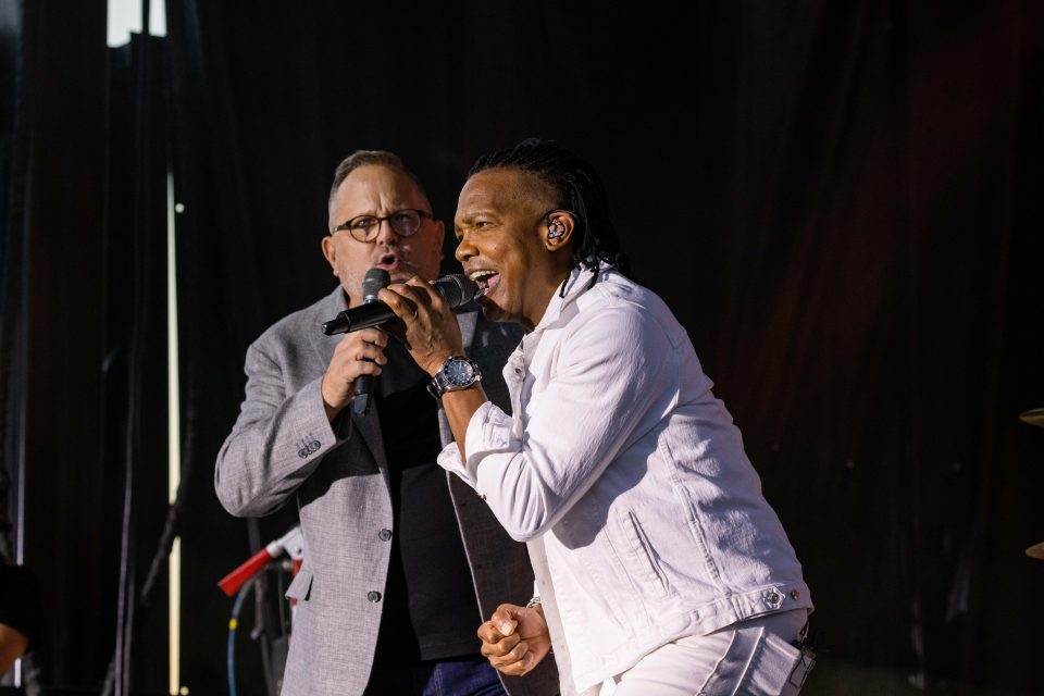 Michael Tait and Marcos Witt