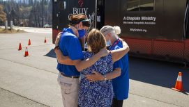 Mobile Ministry Center Offers Refuge for Chaplain Conversations Amid Dixie Fire