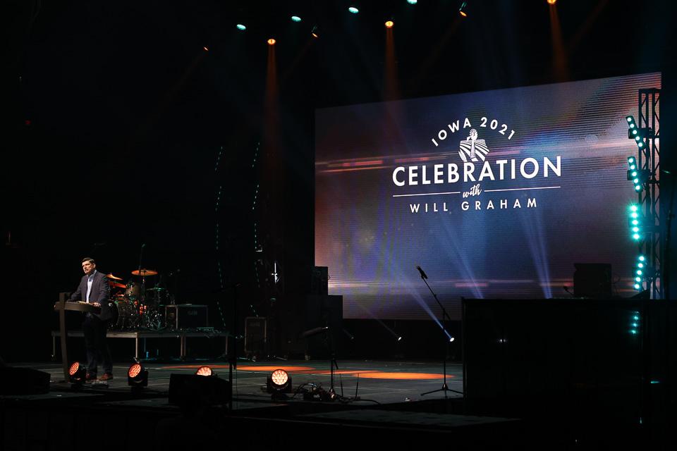 Will Graham at Iowa Celebration