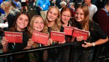 Iowa Celebration Crescendos With Student-Focused Night