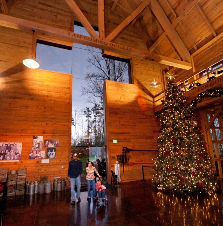 christmas at the library fun facts the billy graham library blog