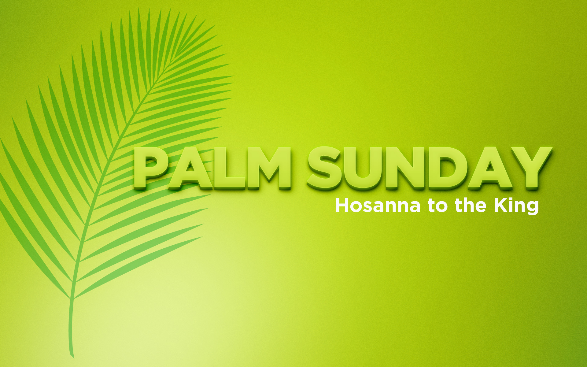 A Palm Sunday Message From Billy Graham The Billy Graham Library Blog