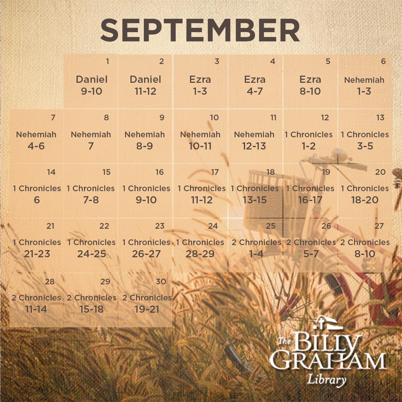 2014 September Bible Reading 4_5in