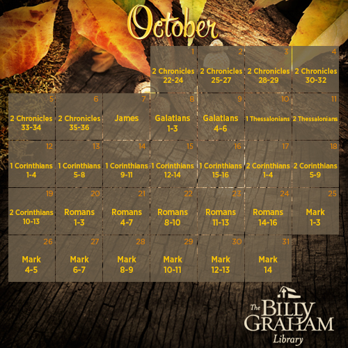 2014 October Bible Reading