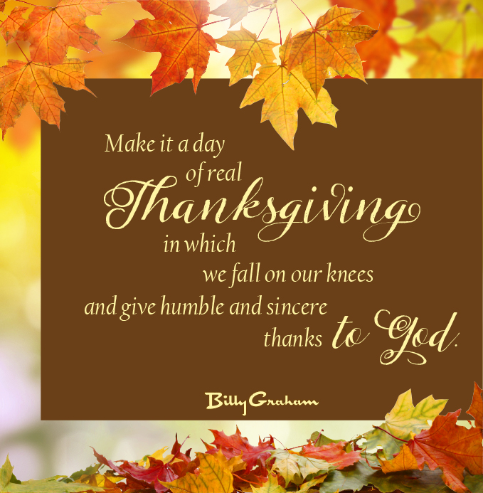 in his own words time of thanksgiving the billy graham library blog