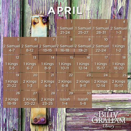 2015 April Bible Reading