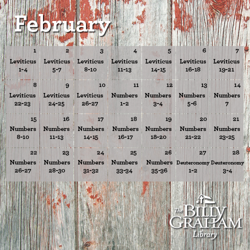 2015 February Bible Reading
