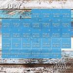 2015 July Bible Reading