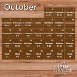 2015 October Bible Reading