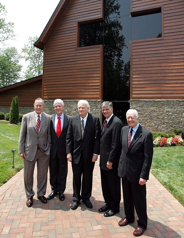 Billy Graham and the Presidents