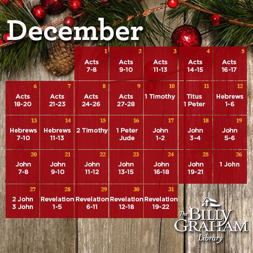 2015 December Bible Reading