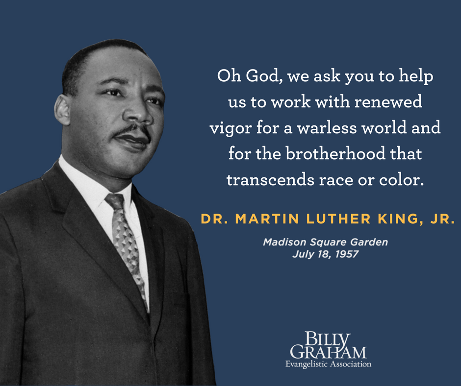 King Of New York Quotes: Dr. Martin Luther King, Jr.—1957 New York Crusade