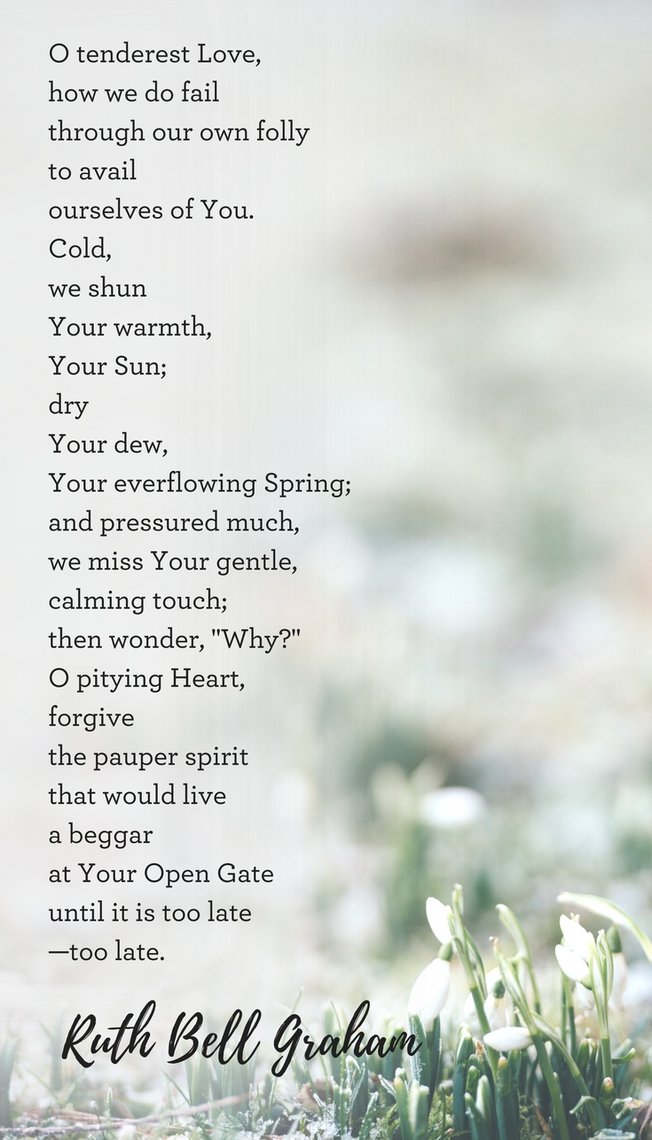 A Spring Poem By Ruth Bell Graham
