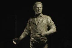"Sept. 28, 2018: Sculpture by Yuan Xikun entitled ""Billy Graham as Sower"" is unveiled. © (Yuan Xikun)"