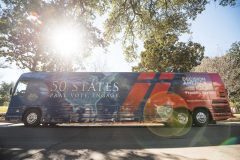 Baton Rouge, La.: Stop #3 – Some 4,200 Louisiana residents gathered at the North Boulevard Town Square in Baton Rouge on Jan. 13, 2016, as part of the Decision America Tour.