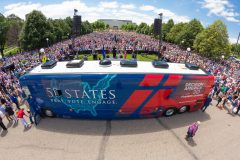 St. Paul, Minn.: Stop #29 – Some 6,300 Minnesotans gathered at capitol's lower mall in St. Paul on June 16, 2016, as part of the Decision America Tour.