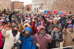 Concord, N.H.: Stop #4 – Some 1,500 New Hampshire residents gathered at the capitol in Concord on Jan. 19, 2016, as part of the Decision America Tour.