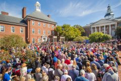 Annapolis, Md.: Stop #48—Some 3,600 Maryland citizens gathered at the Lawyer's Mall in Annapolis on Oct. 11, 2016, as part of the Decision America Tour.