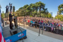 Sacramento, Calif.: Stop #13 – Some 7,500 California residents gathered on the west steps of the Capitol in Sacramento on March 31, 2016, as part of the Decision America Tour.