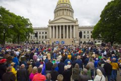 Charleston, W. Va.: Stop #22 – Some 4,200 West Virginians gathered at the Lincoln Plaza in Charleston on May 5, 2016, as part of the Decision America Tour.