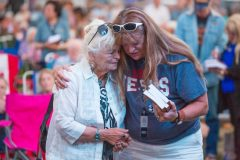 August 5, 2018: More than 12,000 people gathered for music and prayer at Clackamas County Fairgrounds and Event Center in Portland, Oregon.