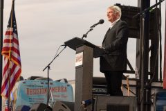 June 5, 2018: Franklin Graham encourages people gathered at Shasta District Fairgrounds in Redding, California, to pray for the country and their communities.