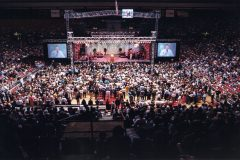 A Franklin Graham Festival in Lubbock, Texas, April 2001.