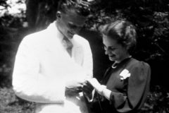 Billy Graham and Ruth Bell were engaged in September 1941 while attending Wheaton College.