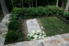 After a private funeral service on March 2, 2018, Billy Graham will be buried at the Billy Graham Library Prayer Garden, located at the Billy Graham Evangelistic Association in Charlotte. He will be laid to rest next to his wife Ruth, who was buried June 17, 2007.