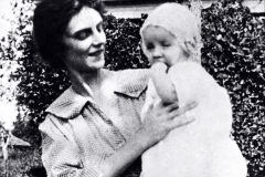 The first-known photograph of Billy Graham is with his mother, Morrow Graham, when he is six months old.