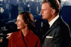 Ruth and Billy Graham go to New York in 1957 for a Crusade initially scheduled for six weeks. Overflow crowds prompted the organizers to extend the meetings for a total of 16 weeks, making it Graham's longest-running Crusade. More than 2 million people heard Graham in person from May 15 to Sept. 1.