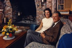 Billy and Ruth Graham at their Montreat, North Carolina, home in 1967.