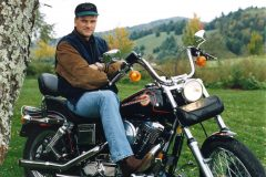 Franklin Graham is an avid Harley rider.